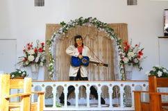 Film kaplica: Elvis ołtarz Zdjęcie Stock