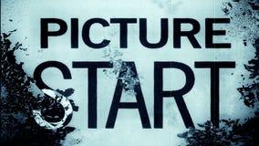 Film Leader Frame Macro 10838 Stock Photography