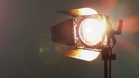 Film Lichte 300w Achtergrond stock video
