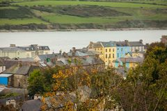 General view. Youghal. Ireland Stock Image