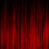 Film lub teatr zasłona Fotografia Royalty Free