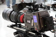 Film Making Professional Video Camera Stock Photos