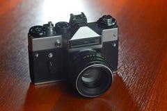The film mirror camera Stock Photos