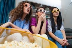 Film mit den Mädchen lizenzfreies stockfoto