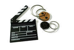 Film and movie board Stock Photos