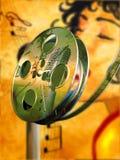 Film musical photographie stock libre de droits