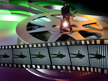 Film musicale Immagine Stock