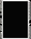 Film négatif grunge Photos libres de droits