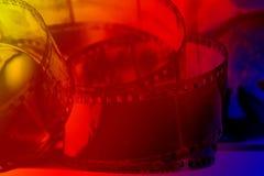 Film négatif photographique Image stock