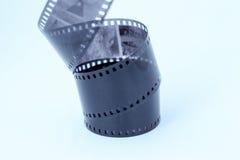 Film Negatief op Witte Achtergrond royalty-vrije stock foto