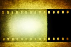 Film negative Stock Image