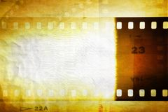 Film negative background. Grungy film negative background, copy space Royalty Free Stock Photo