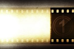 Film negative background. Grungy film negative background, copy space Stock Images