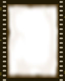 Film Negative Photo Frame. Illustration of a transparent film negative photo frame created in Photoshop Royalty Free Stock Image