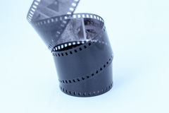 Film Negative on White Background. Film negative isolated on white background Royalty Free Stock Photo