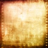 Film negatives. Frame, advertising copy space Royalty Free Stock Images