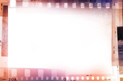 Film negatives. Frame, copy space Royalty Free Stock Photos