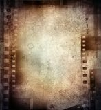 Film negatives Stock Images