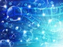 Film negatives landscape Royalty Free Stock Images