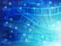 Film negatives landscape Stock Images