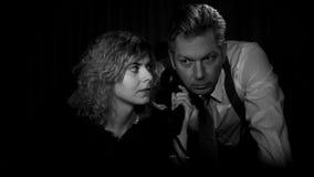 Film noir Image stock