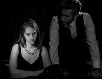 Film noir Photographie stock