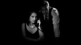 Film noir Photo stock
