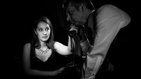 Film noir Photos libres de droits