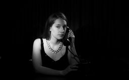 Film Noir Royalty Free Stock Images