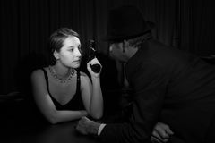 Film Noir royalty free stock images