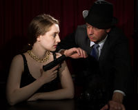 Film Noir Stock Photography