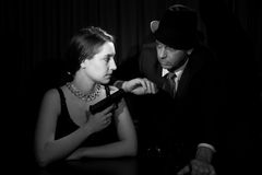 Film Noir Royalty Free Stock Photography