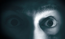 Film Noir - Shocked Royalty Free Stock Photo