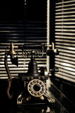 Film Noir Vintage Telephone Royalty Free Stock Photos