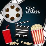 Film- och biosymboler Royaltyfria Foton