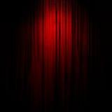 Film oder Theatertrennvorhang lizenzfreie abbildung