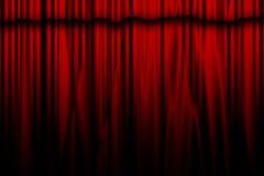 Film ou rideau en théâtre Photos stock