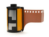 Film per le stampe a colori Immagini Stock