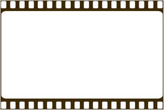Film photo frame. Film like photo frame border Royalty Free Stock Photos