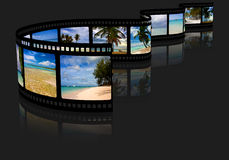 Film with pictures Royalty Free Stock Image