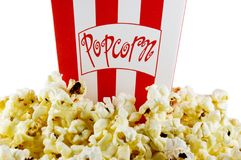 Film-Popcorn Lizenzfreies Stockbild