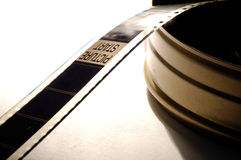 Film positive. Picture start in a film positive Stock Photos