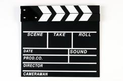 Film produkci clapper deska zdjęcia stock