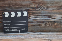 Film produkci clapper deska obraz royalty free
