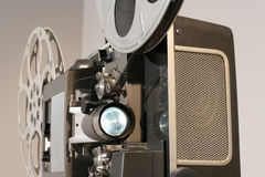 Film Projector Front Close Royalty Free Stock Photo
