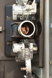 Film-Projektor-Filmrolle-Linse der Weinlese-8mm Lizenzfreie Stockbilder