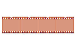Film-Rahmen alt stock abbildung