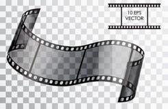 Film realistico Illustrazione di vettore Fotografie Stock Libere da Diritti