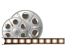 Film_reel_01 Stockfoto