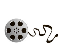Film Reel. Illustration of a film reel. Available in jpeg and eps8 formats Royalty Free Stock Photo